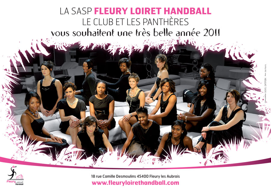 Handball Calendrier.Handball Feminin Calendrier Et Meilleurs Voeux Des