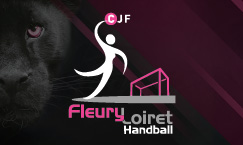 Reportage photos du match de l'entente Fleury Orléans Loiret Handball contre l'entente Blere-Chambray, le 15 Novembre au Palais des Sports
